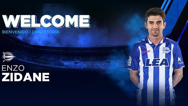 Putra Zinedine Zidane Pindah Ke Deportivo Alaves