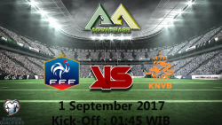 Prediksi France Vs Netherlands 1 September 2017