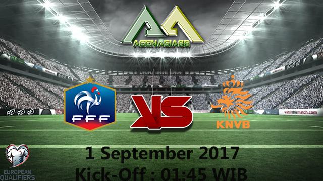 Prediksi France Vs Netherlands 1 September 2017