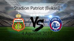 Prediksi Pertandingan Bhayangkara Vs Arema 4 Agustus 2017