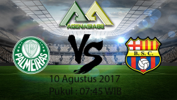 Prediksi Pertandingan Palmeiras Vs Barcelona 10 Agustus 2017