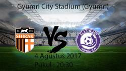 Prediksi Pertandingan Shirak Vs Alashkert 4 Agustus 2017