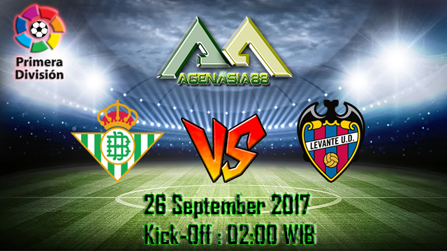 Prediksi Real Betis Vs Levante 26 September 2017