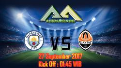 Prediksi Manchester City Vs Shakhtar Donetsk 27 September 2017