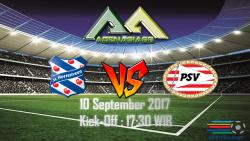 Prediksi Heerenveen Vs PSV 10 Septemeber 2017