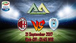 Prediksi Milan Vs SPAL 21 September 2017