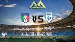 Prediksi Italy Vs Israel 6 September 2017