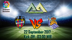 Prediksi Levante Vs Real Sociedad 22 September 2017