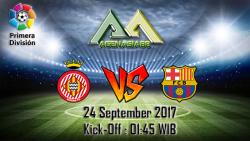 Prediksi Girona Vs Barcelona 24 September 2017