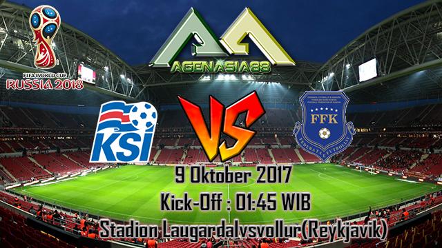 Prediksi Iceland Vs Kosovo 9 Oktober 2017