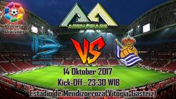 Prediksi Deportivo Alaves Vs Real Sociedad 14 Oktober 2017
