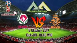 Prediksi Belarus Vs Netherlands 8 Oktober 2017