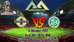 Prediksi Northern Ireland Vs Germany 6 Oktober 2017