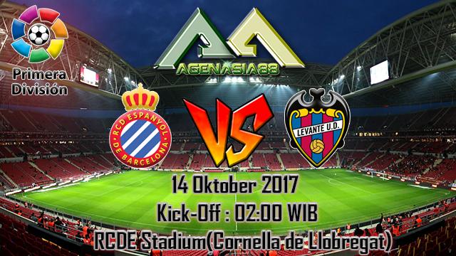 Prediksi Espanyol Vs Levante 14 Oktober 2017