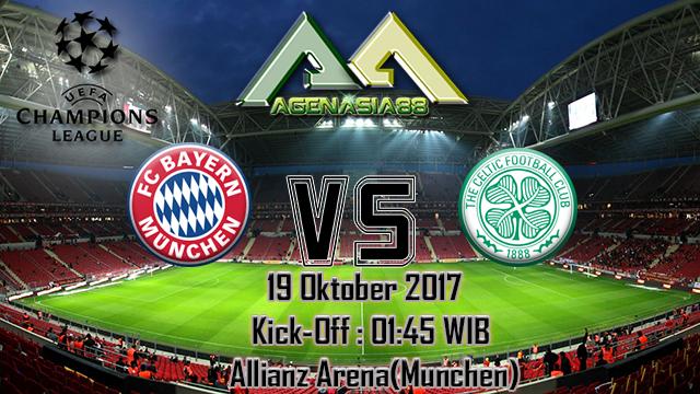 Prediksi Bayern Munchen Vs Celtic 19 Oktober 2017
