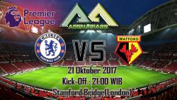 Prediksi Chelsea Vs Watford 21 Oktober 2017