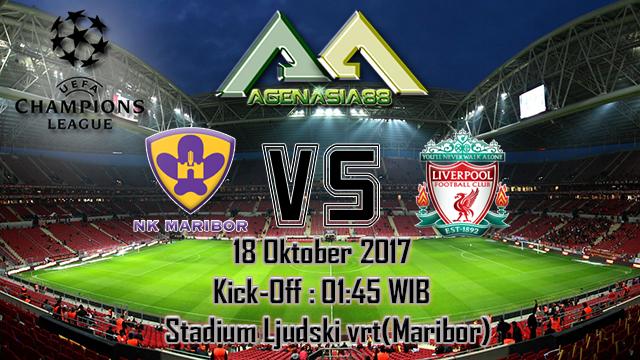 Prediksi Maribor Vs Liverpool 18 Oktober 2017