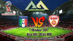 Prediksi Italy Vs FYR Macedonia 7 Oktober 2017