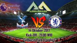 Prediksi Crystal Palace Vs Chelsea 14 Oktober 2017
