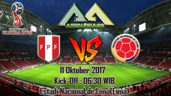 Prediksi Peru Vs Colombia 11 Oktober 2017
