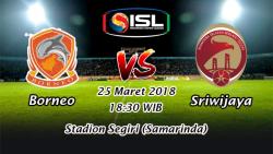 Prediksi Skor Bola Borneo vs Sriwijaya