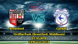Prediksi Bola Terbaik Brentford vs Cardiff City