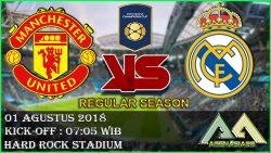 Prediksi Manchester United vs Real Madrid