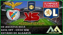 Prediksi Benfica vs Olympique Lyonnais